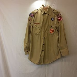 Mens boyscout shirt